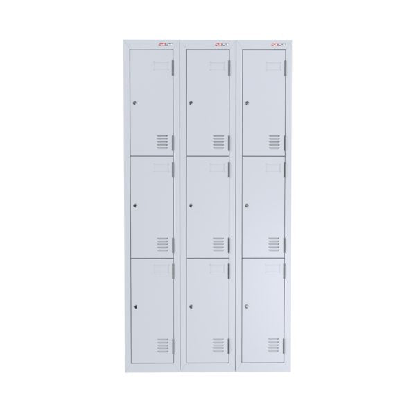 AUSFILE - Lockers 3 Tier