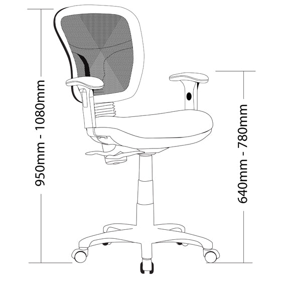 ME350 Ecotech Mesh Range Chair - Task/ Desk Chairs - pimp-my-office-au
