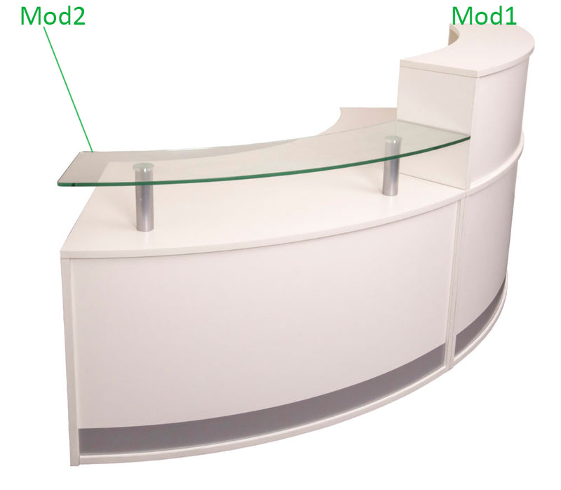Rapid Modular Reception Counter -  Best Reception Desk in Brisbane