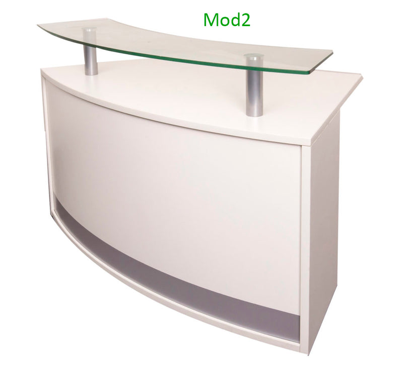 Rapid Modular Reception Counter -  Best Reception Desk in Melbourne
