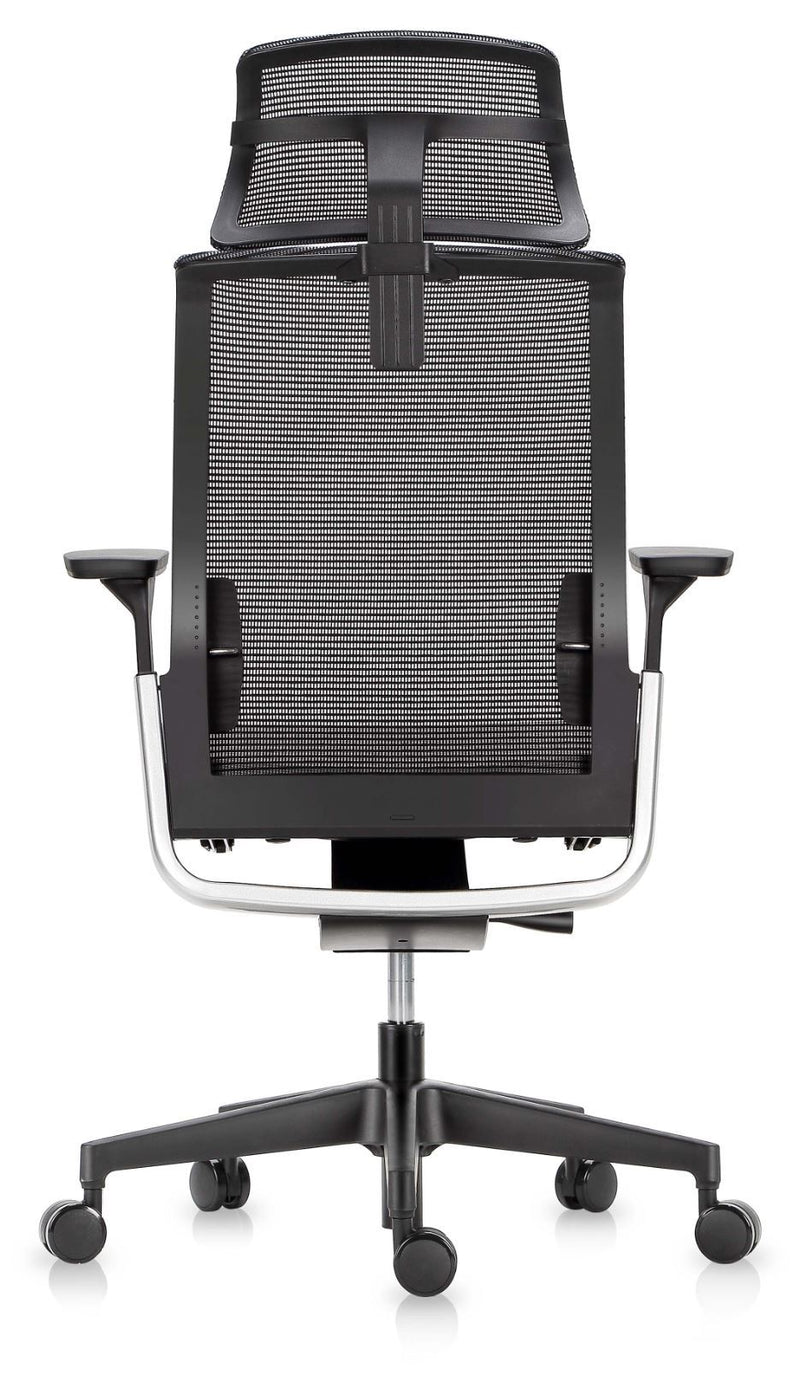 Match mesh chair with headrest - pimp-my-office-au