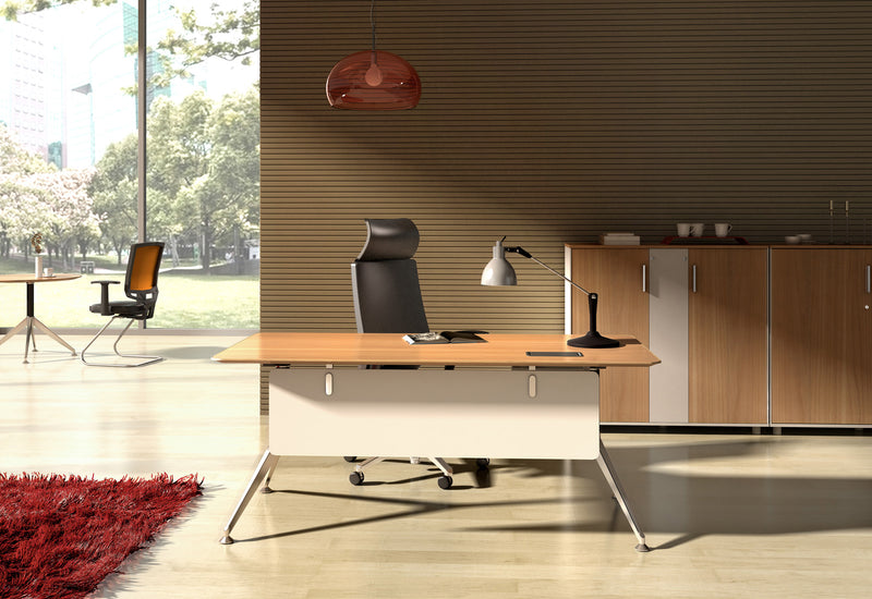 Potenza Rectangular Desk - Single Person Desk - pimp-my-office-au