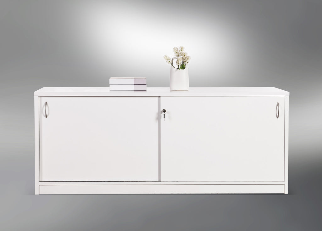 Counter Buffet White - credenza - pimp-my-office-au