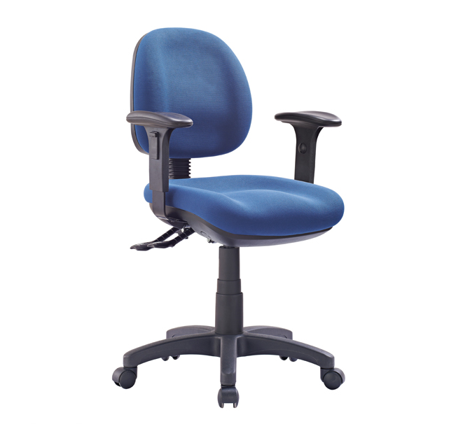blue Office Express Chairs with arms
