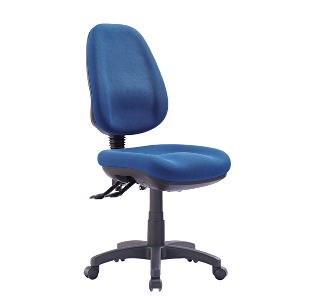 blue Office Express Chairs with high back