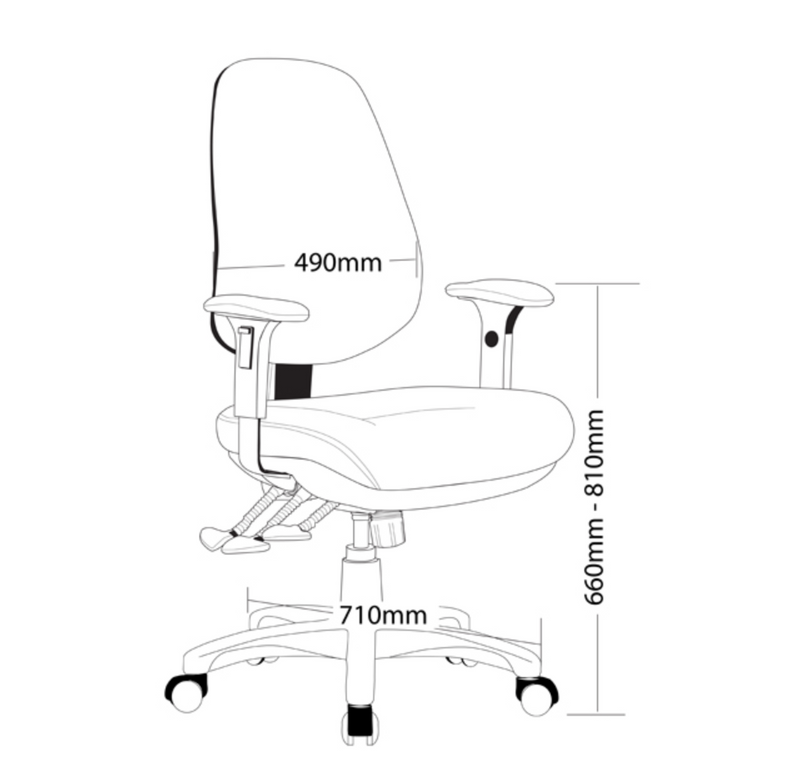 TR600-Express Range Chair - Task / Desk Chairs - pimp-my-office-au