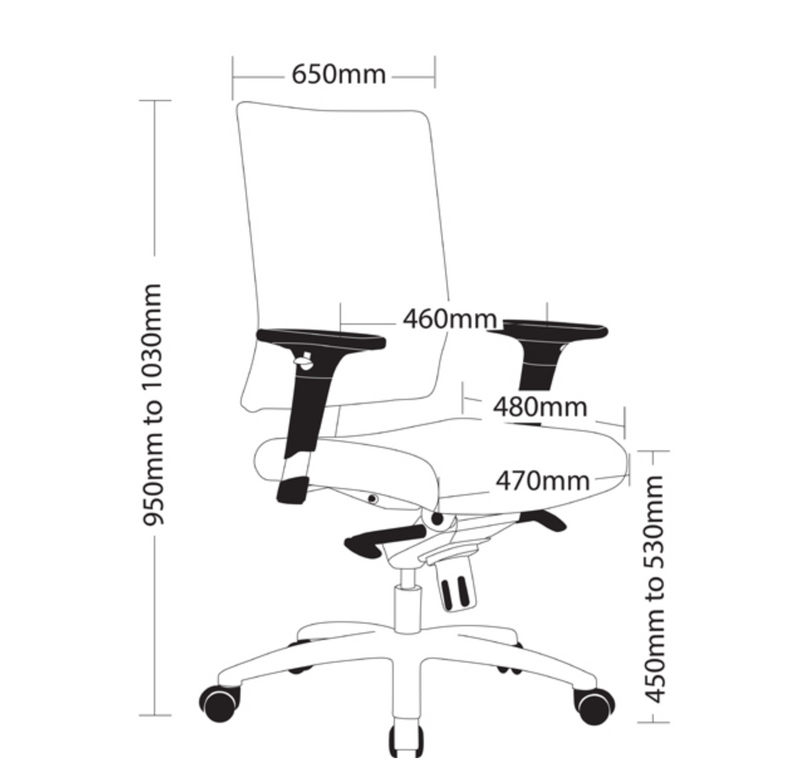 CLEO Range Chair - Task/ Desk Chairs - pimp-my-office-au