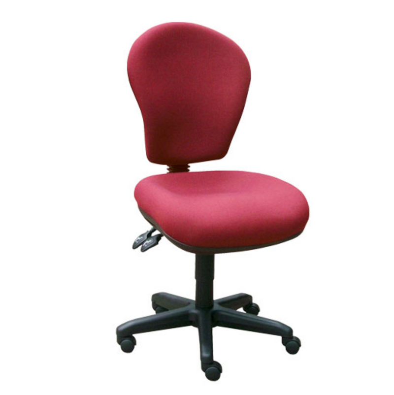 red Retro Office Chair