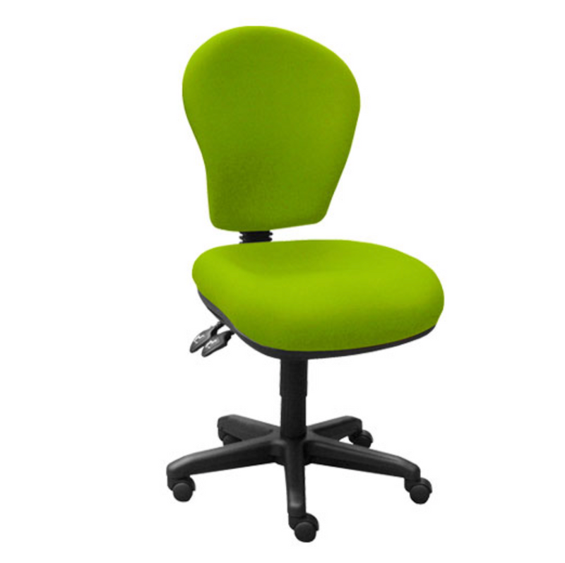 green Retro Office Chair