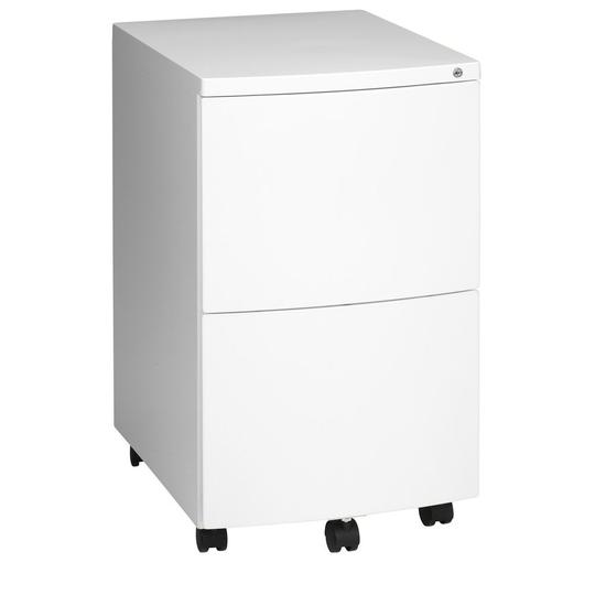 Ultimet Deluxe Mobile Pedestal - 2 File Drawers - Filing - pimp-my-office-au