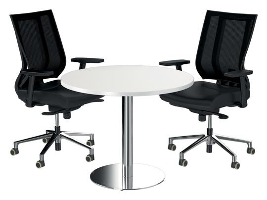 Silhouette Disc Base Tables - Meeting/ Boardroom Tables - pimp-my-office-au