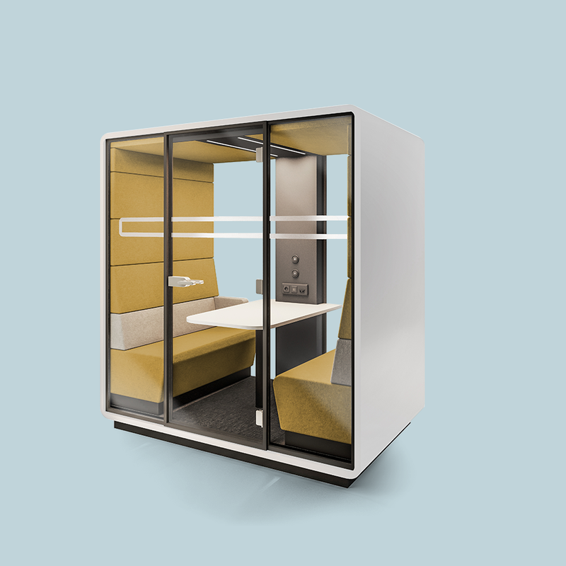 hush booth pods for quiet working