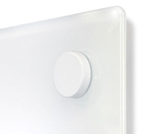 LUMIÉRE Magnetic Glassboard - White or Black