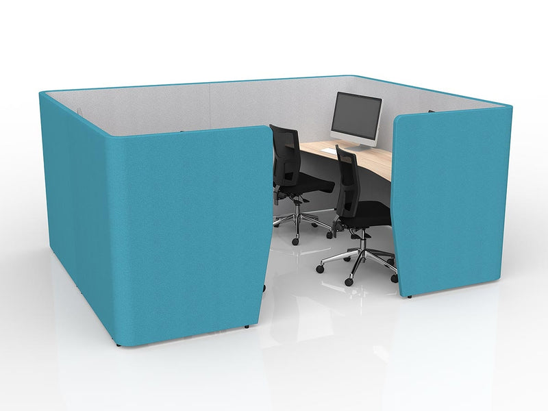 Motion Team pod workstation - Desk Based Spaces - pimp-my-office-au