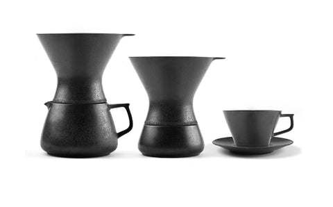 KIT DE POUR OVER PORCELANA TIMEMORE NEGRO 150 ML