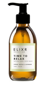 Elixr Hand Body Wash TIME TO RELAX, Aromakosmetik