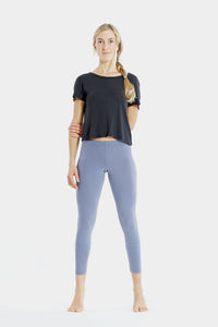 Yoga Leggings 7/8 Blue Granit