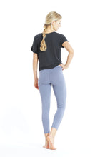 Laden Sie das Bild in den Galerie-Viewer, Yoga Leggings 7/8 Blue Granit