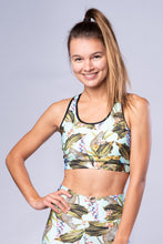 Laden Sie das Bild in den Galerie-Viewer, Yoga Top Racer Back AFRICA MINT
