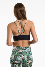 Laden Sie das Bild in den Galerie-Viewer, Yoga Bra Sport-Bustier GREEN JUNGLE