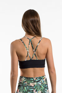 Yoga Bra Sport-Bustier GREEN JUNGLE