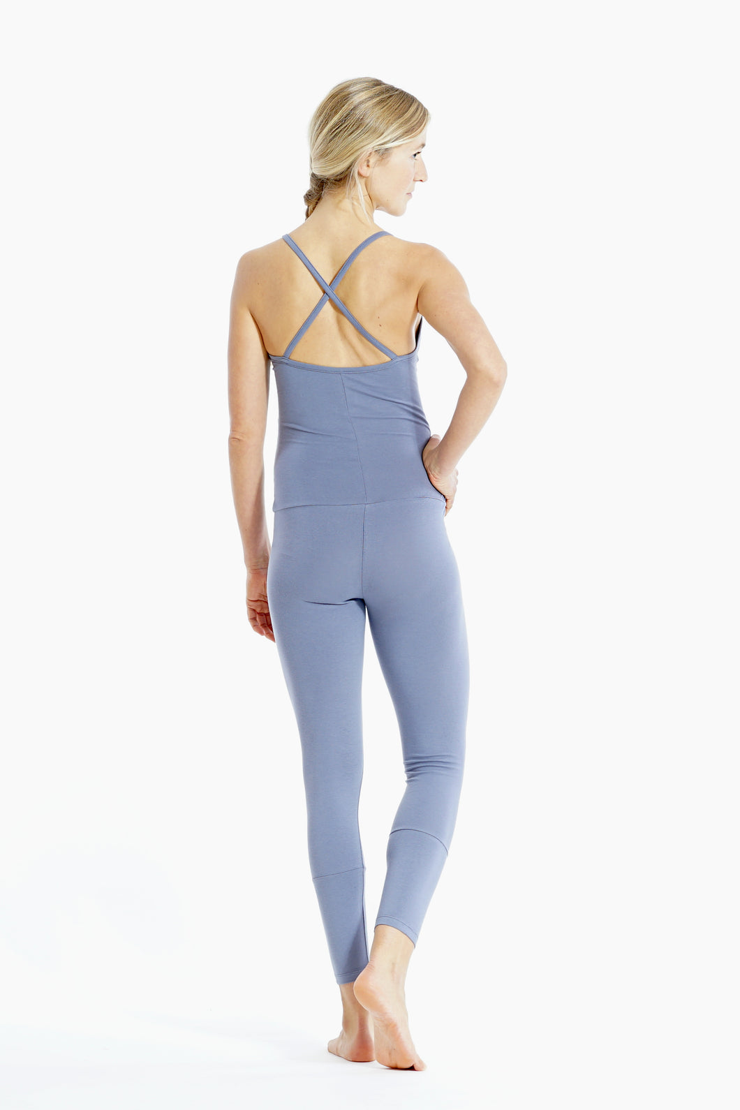 Yoga Jumpsuit Cross