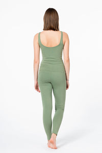 "Yoga Jumpsuit ""Sea Spray"", Grün"