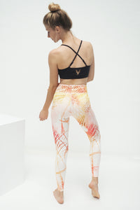 Yoga-Leggings 7/8 CARIBBEAN SUNSET