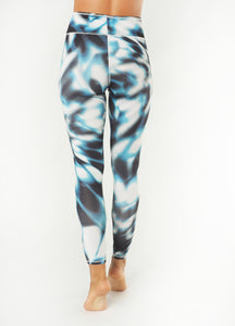 Yoga 7/8 Leggings OCEAN, Aqua