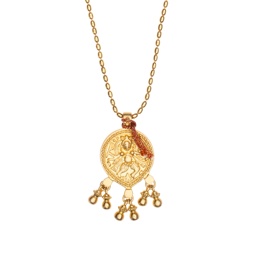 Halskette Love Chain DANCING SHIVA, Gold