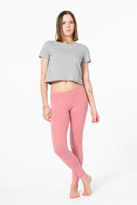 Yoga Leggings Plain Apricot von Yoiqi
