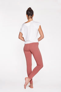 Yoga Leggings Plain Canyon Rose