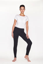 "Laden Sie das Bild in den Galerie-Viewer, Yoga Leggings lang, ""Soft Black"""