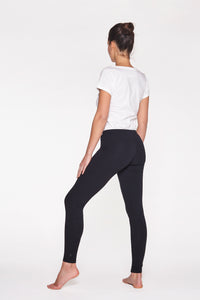 "Yoga Leggings lang, ""Soft Black"""