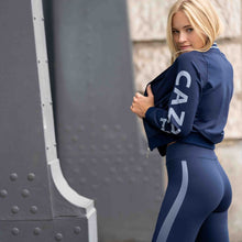 Laden Sie das Bild in den Galerie-Viewer, Yoga Leggings TYRA, Nachtblau