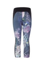 Laden Sie das Bild in den Galerie-Viewer, Yoga Capri-Leggings POLLY, Blumenprint