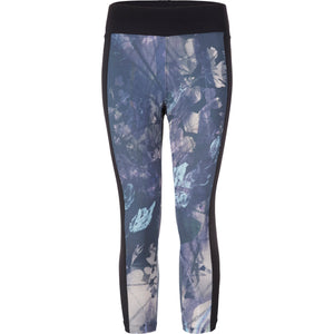 Yoga Capri-Leggings POLLY, Blumenprint