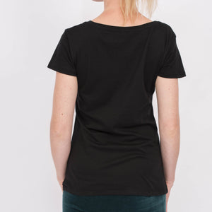 Yoga T-Shirt ARROW, Schwarz