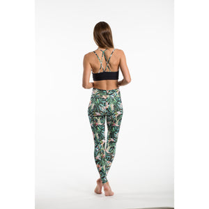 Yoga Leggings GREEN JUNGLE, Grün