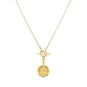 Yoga Halskette, Love Chain LAKSHMI, Gold
