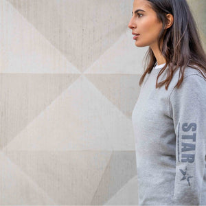 Yoga Sweatshirt TIFFANY, Grau