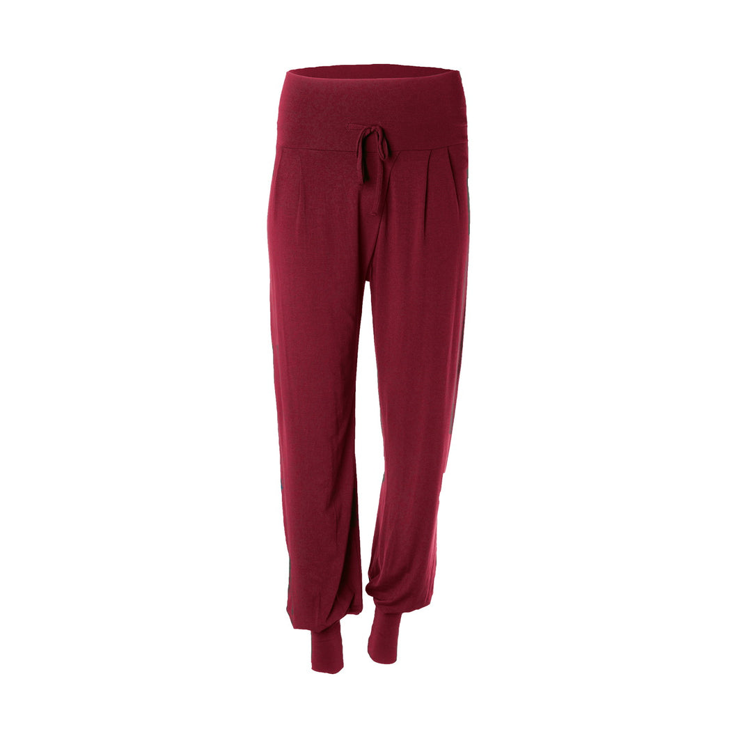 Yoga Pant PADMINI, Bordeaux Rot