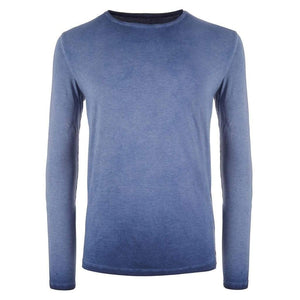 Yoga Langarm-Shirt SIMON, Blue