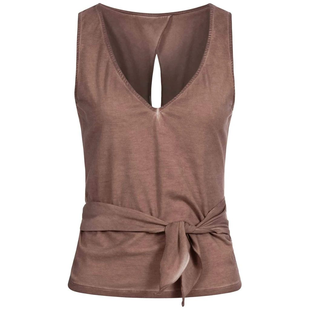 Yoga Wickeltop Top WENDY, Vintage nougat
