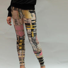 Laden Sie das Bild in den Galerie-Viewer, Yoga-Leggings GEOMETRIC