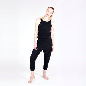 Yoga Jumpsuit SOFT, Schwarz