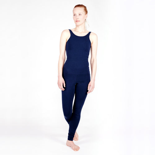 Yoga Jumpsuit DEEP BLUE