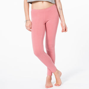 Yoga Leggings lang, APRICOT