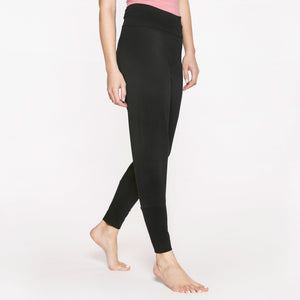 "Yoga-Hose High Waist ""Soft Black"""
