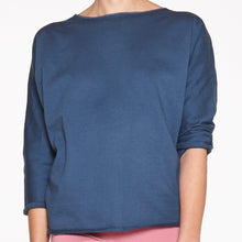 Laden Sie das Bild in den Galerie-Viewer, Yoga Damen Sweater INDIGO, Blau